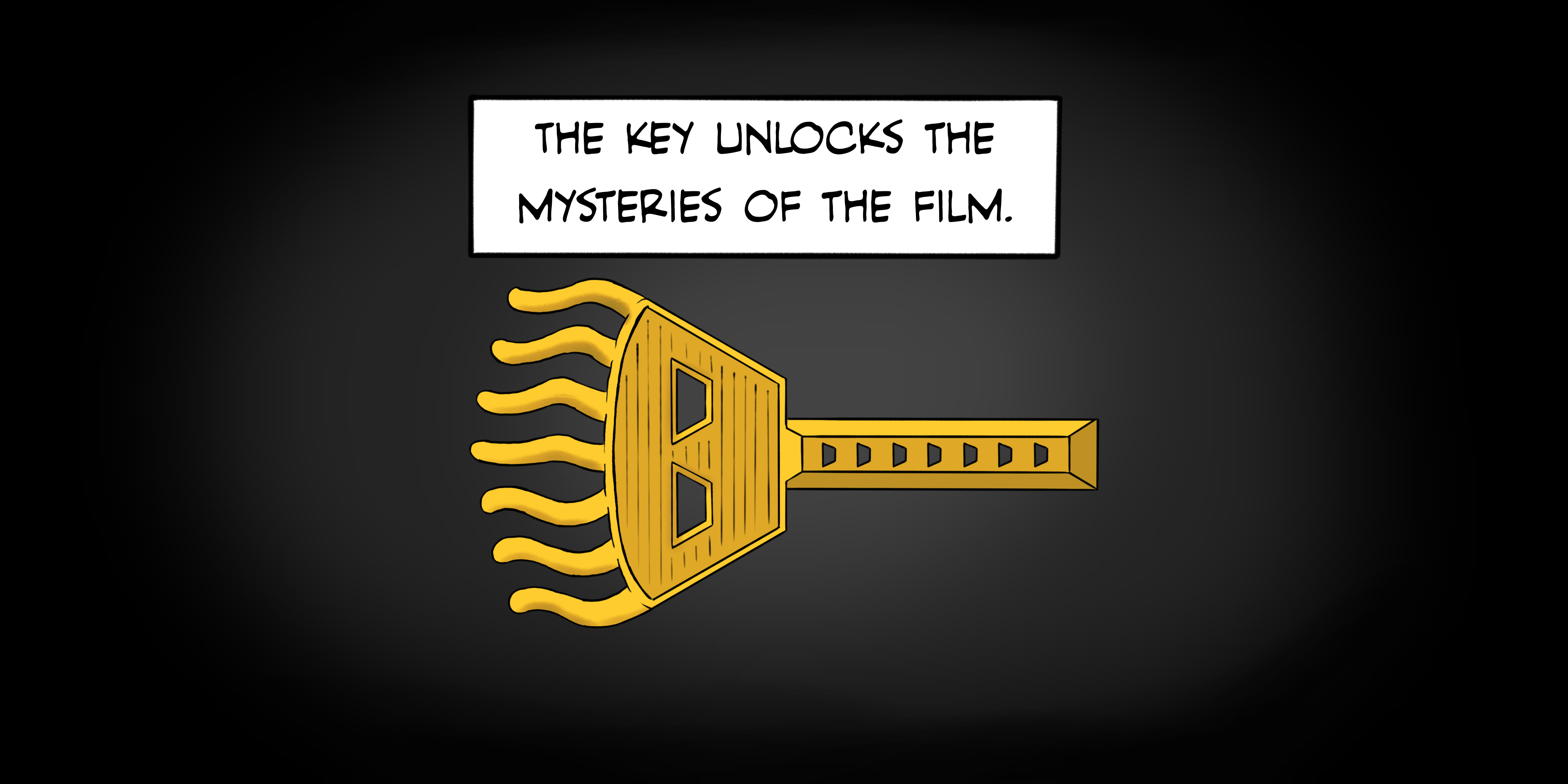 The Key unlocks the mysteries of the film.